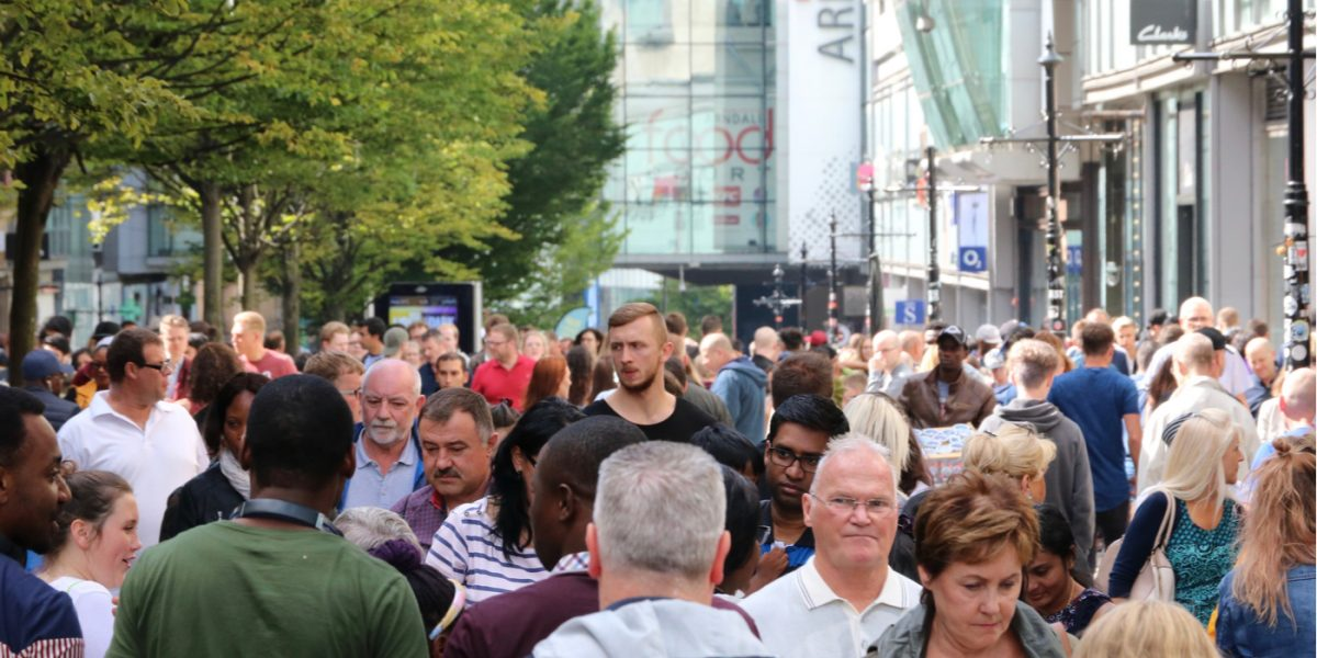 Manchester City Centre Population Has Increased 185% in 15 Years